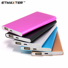 ETMAXTER Power Bank 4000mAh battery Mini Portable mobile Charger Ultrathin Supports OEM Retail package
