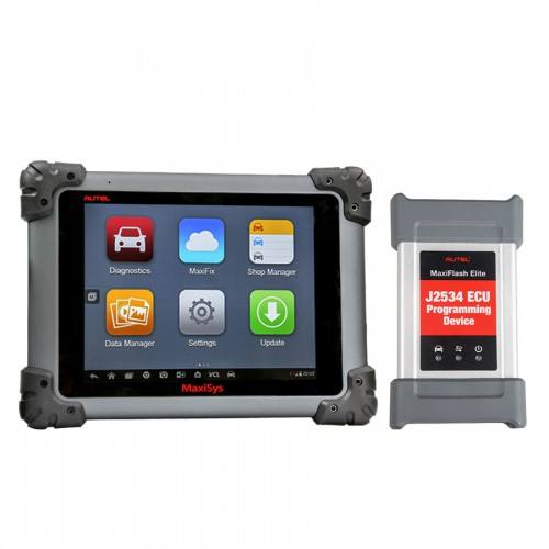 Autel MaxiSys MS908 Pro WIFI OBD Full System Diagnostic Scan เครื่องมือ MS908P พร้อม MaxiFlash Elite ECU Preprogramming
