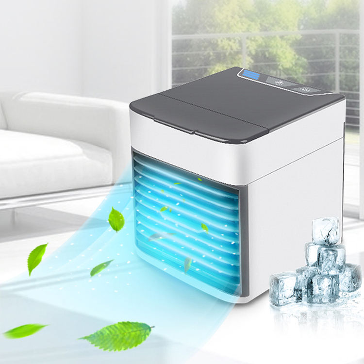 JMK.Smart 2020 Most Popular Portable Rechargeable USB Mini Air Cooler Humidifier Purifier Fan For Sleeping