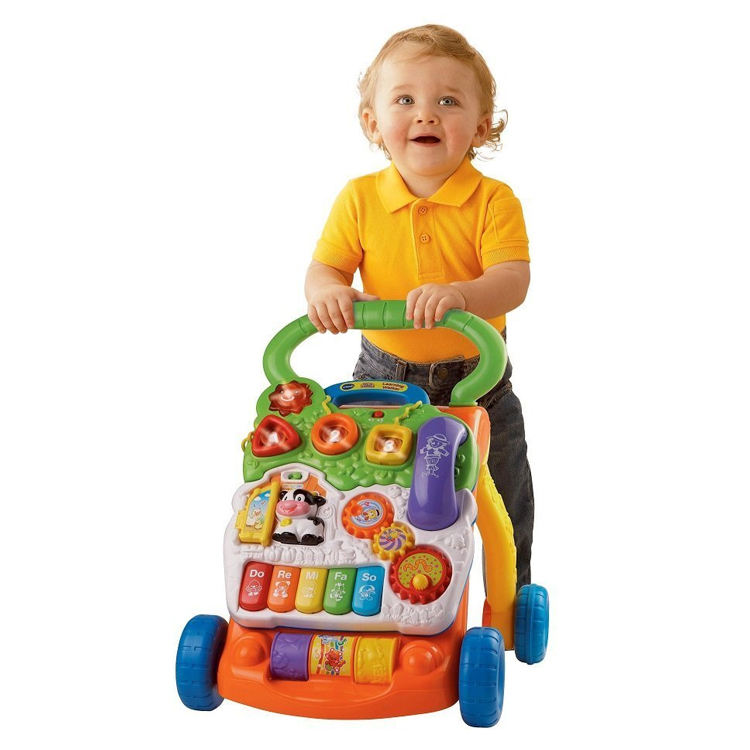 music baby walker sit to stand learning walker baby learning toy