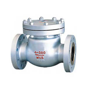 Factory outlet cast steel swing check valve flanged check valve price
