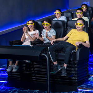 Manufacturer Virtual Reality Amusement Park Theater Simulator 7d Cinema Equipment