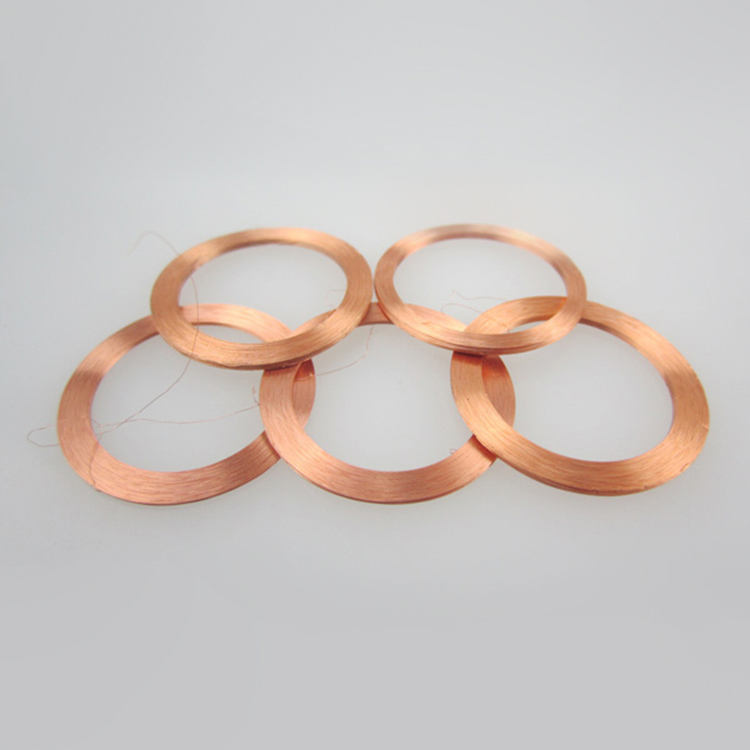 custom copper induction coil electric air copper coil for winding machine parts