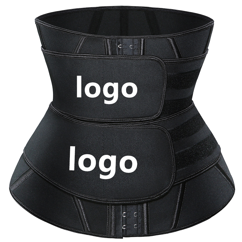Custom Logo Private Label 100% Latex Fajas Colombiaanse Afval <span class=keywords><strong>Trainer</strong></span> Cincher Dubbele Band Vrouwen Zweet <span class=keywords><strong>Taille</strong></span> <span class=keywords><strong>Trimmer</strong></span> Afslanken <span class=keywords><strong>Riem</strong></span>