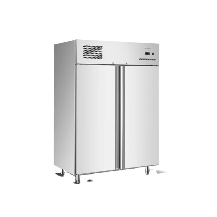 high performance 4 door stainless steel upright commercial deep freezer fridge refrigerator for restaurant kitchen