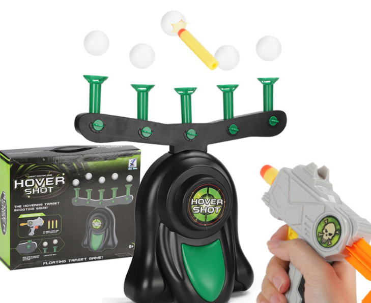 kids Toy Gun indoor electronic hover target shooting game with soft dart