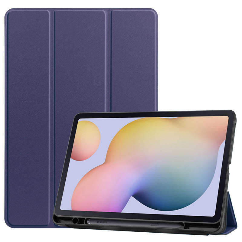 Galaxy tab s7 + case 2020, magro Trifold Fique Smart Cover Case for <span class=keywords><strong>Samsung</strong></span> Galaxy Tab S7 Plus de 12.4 polegadas com <span class=keywords><strong>S</strong></span> Pen Holder