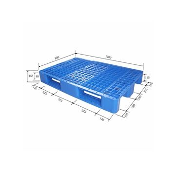 Corrugated plastic pallet dividers Compressed Plastic industrial pallet recycling virgin HDPE