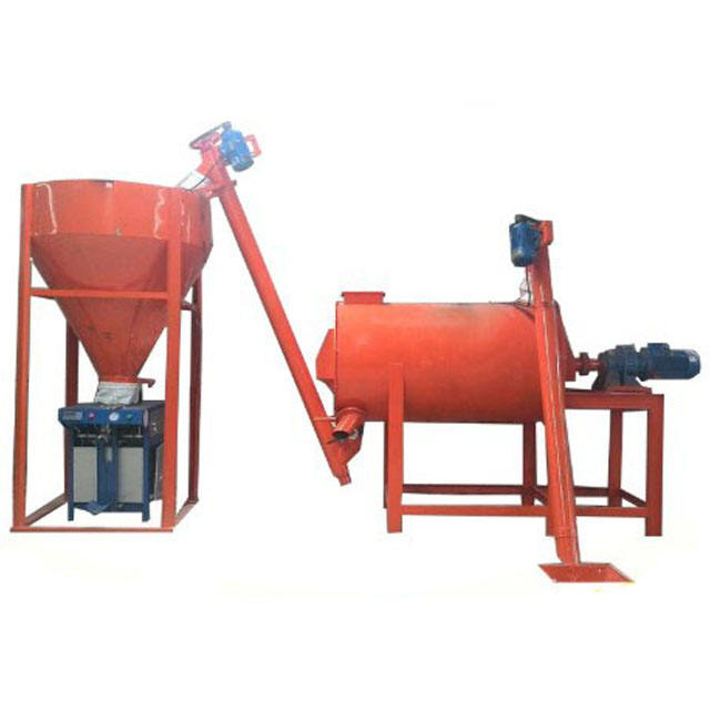 Small Low Investment Ceramic Tile Adhesive Mortar Manufacturing Plant Machine