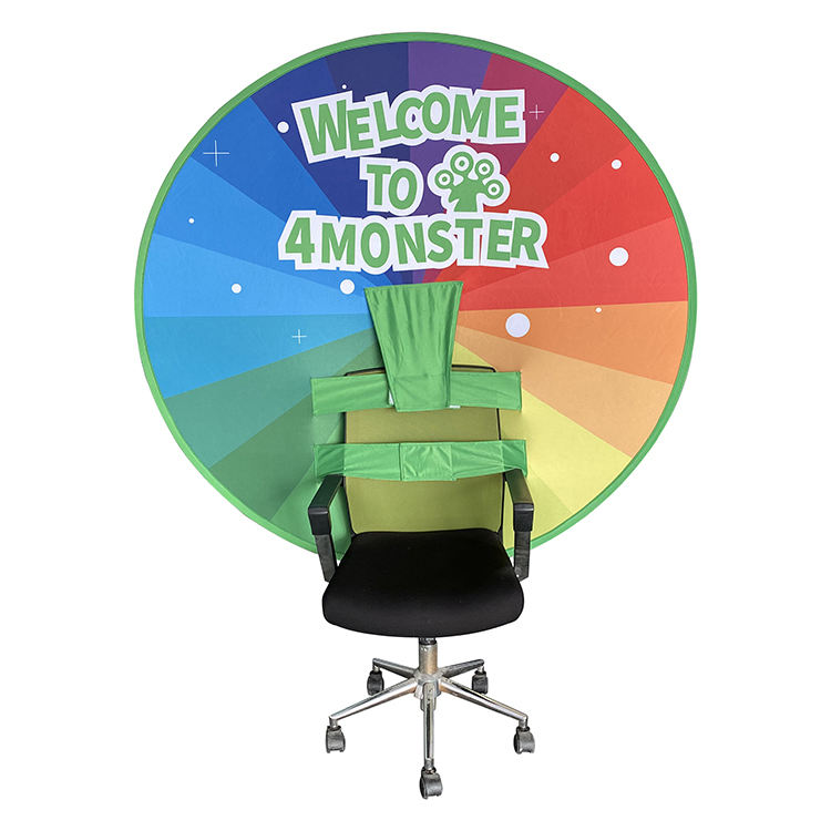 2020 new arrival backdrop portable chair green screen background for Video Chats, Zoom