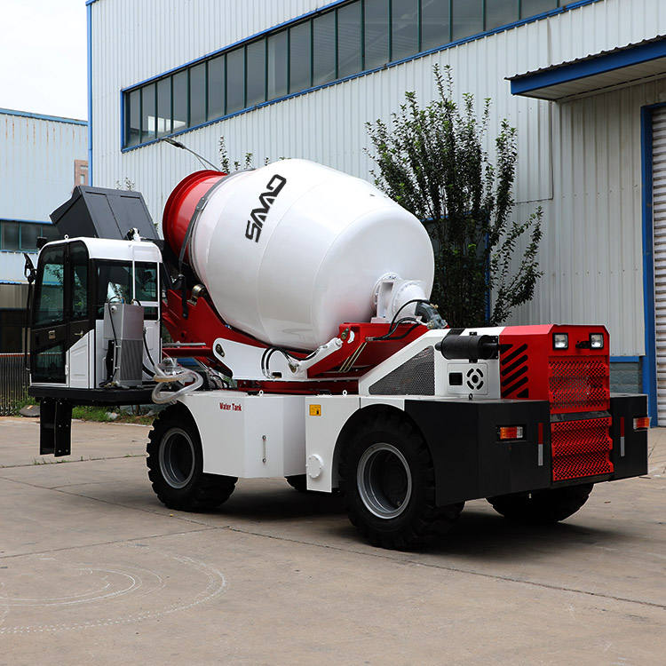 Graphic Customization [ 4 Mixer Truck ] Price Concrete Mixer Truck China Manufacturer Supplier 1 To 4 CBM Small Mini Self Loading Concrete Mixer Truck Price For Sale