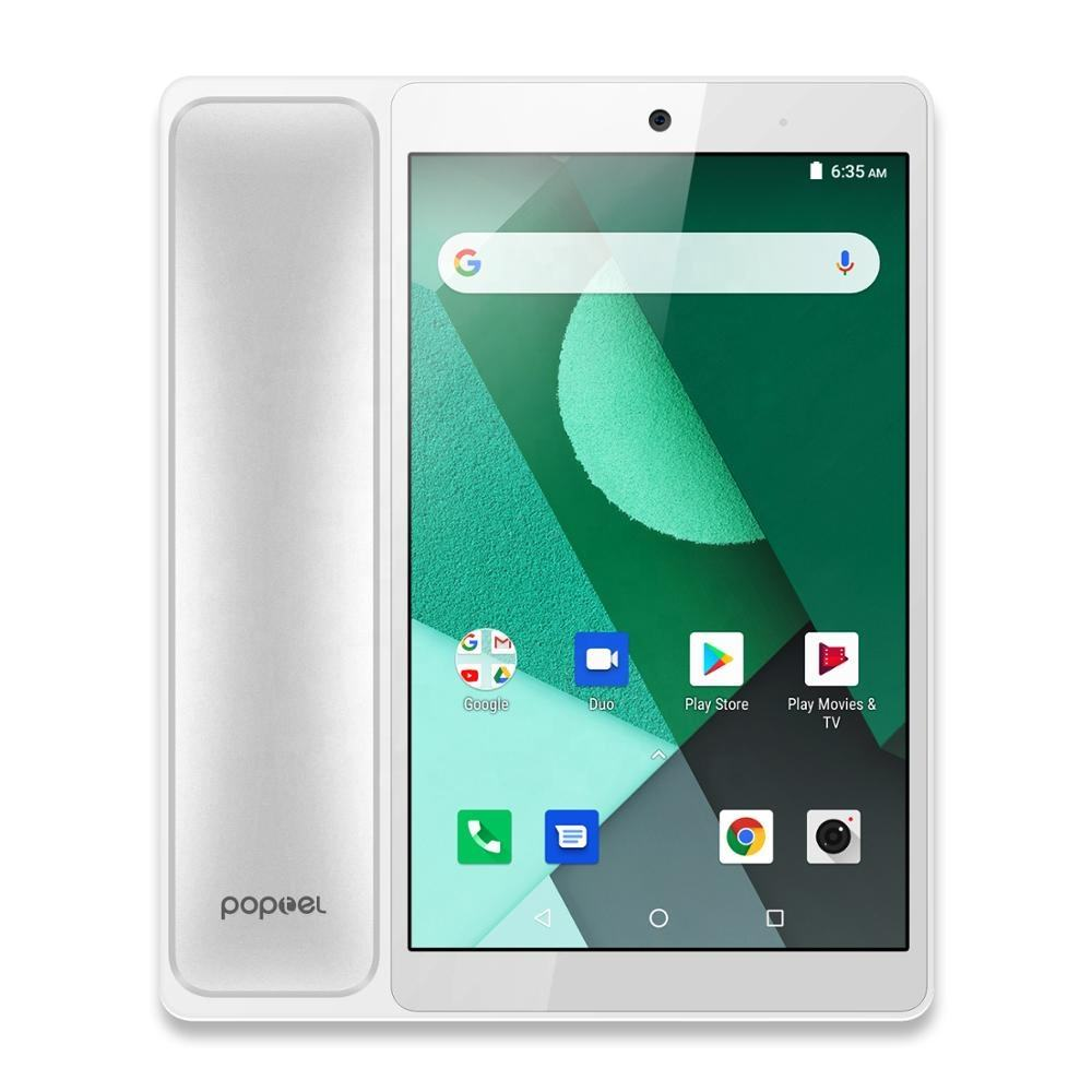 Wholesale Poptel V9 4G Android 8.1 smartphone SC9832E 2GB RAM 16GB ROM cell phone 5.0MP front camera 1800mAh Built-in videophone