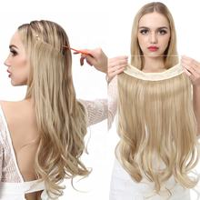 SARLA Hairpieces Dropshipping Cheap Ombre For White Women Wholesale Factory Secret Private Label Synthetic Halo Hair Extension