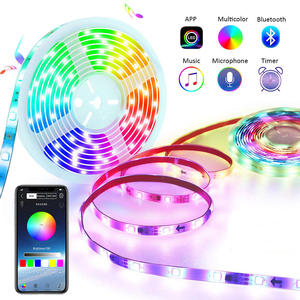 Droom Kleur Led Strip Verlichting Met App Controlled 5M/16.4ft Led Verlichting Met Multicolor Chasing, waterdichte Rgb Led Strips