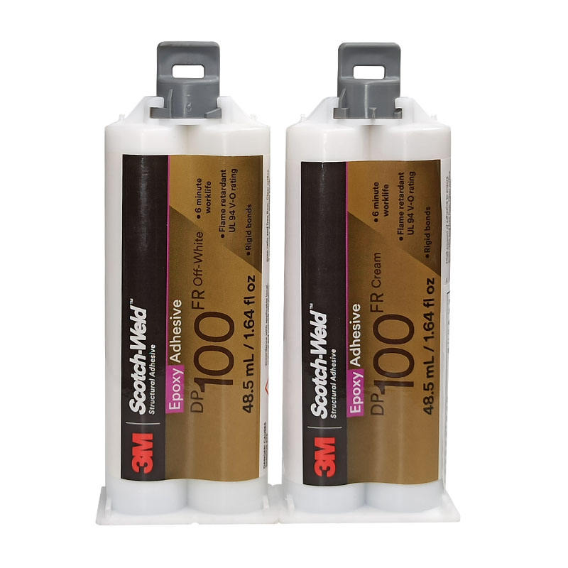 3M Epoxy adhesive DP100FR Cream High shear ensures a permanent bonds Two-component structure glue quick setting glue