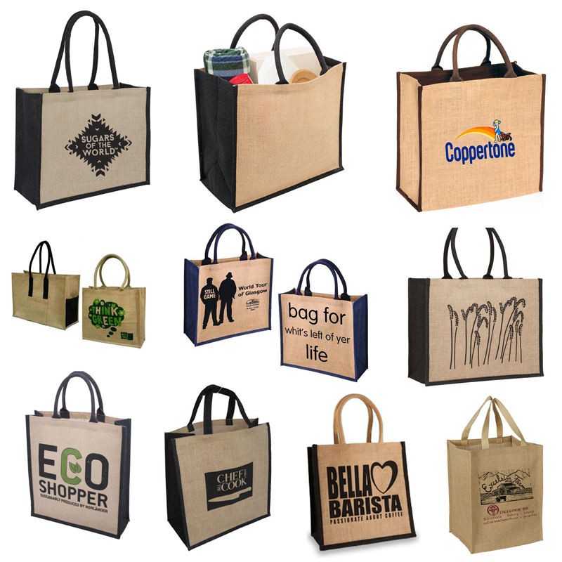 Tote Bag Eco Friendly 2017 Ing Tiger Brand Good Quality Wholesales Jute Tote Bag