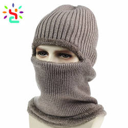Recommend Balaclava Mask Custom Skiing Balaclava Keep Warm Windproof Fashion Mask Solid Fleece Black Mask
