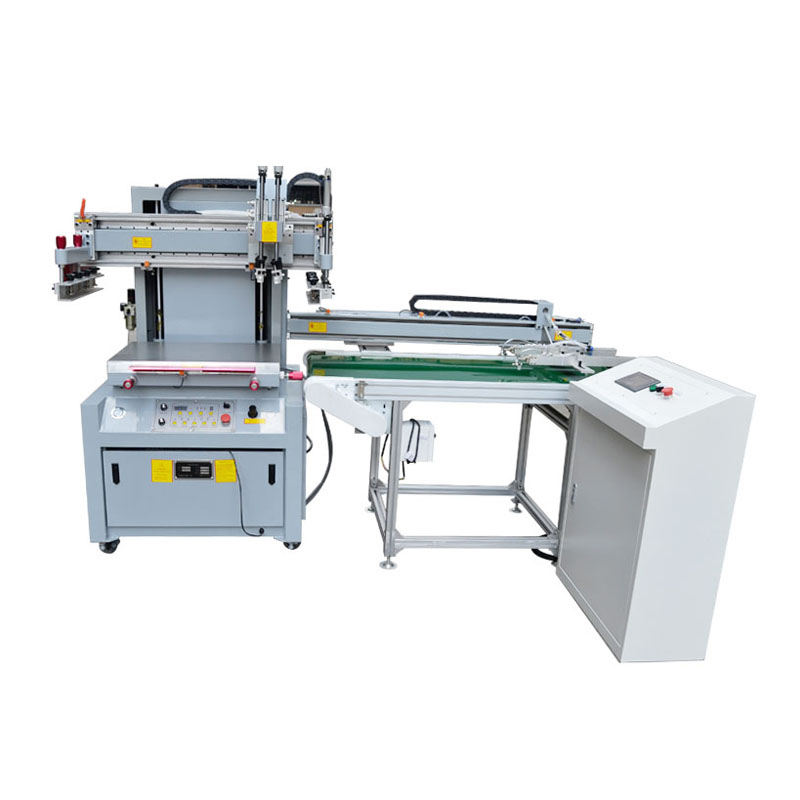 Automatic discharge screen printing production line equipment