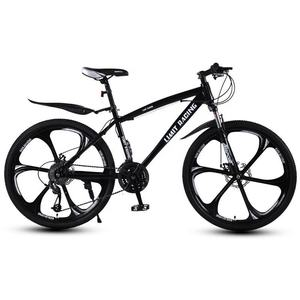 ATPARTS cube mountain bike with solid tires and one-wheel mountain bikes