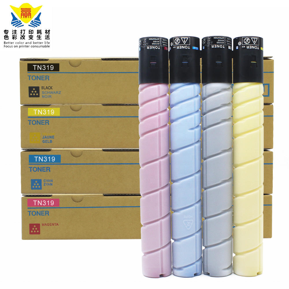 TN319 CMY Genuine Konica Minolta Toner Color Set For C360 C Lot of 3