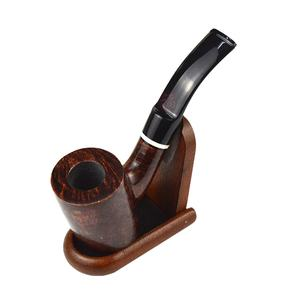 New Nice Gift handmade 9mm filter Top Quality Hot selling custom briar wood smoking pipe