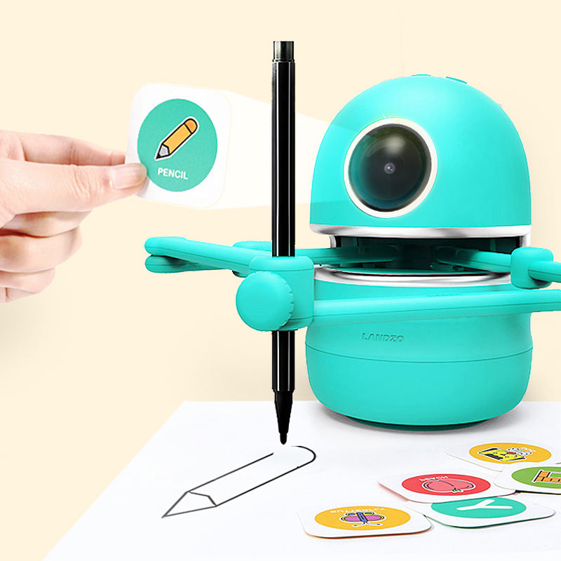 Quincy Kids Drawing Learning Robot Smart Stem Educational Robot Toys for Kids