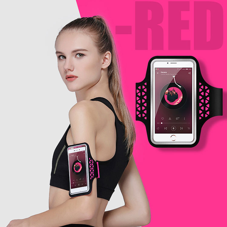 Sport [ Mobile Cover ] Mobile Phone Armbands Gym Running Sport Arm Band Cover Protective Phone Bags