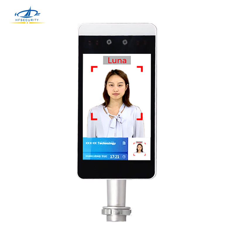 HFSecurity RA08 Face Recognition Solution Dual Cameras Time Attendance Security Surveillance Best Contactless With Free Software