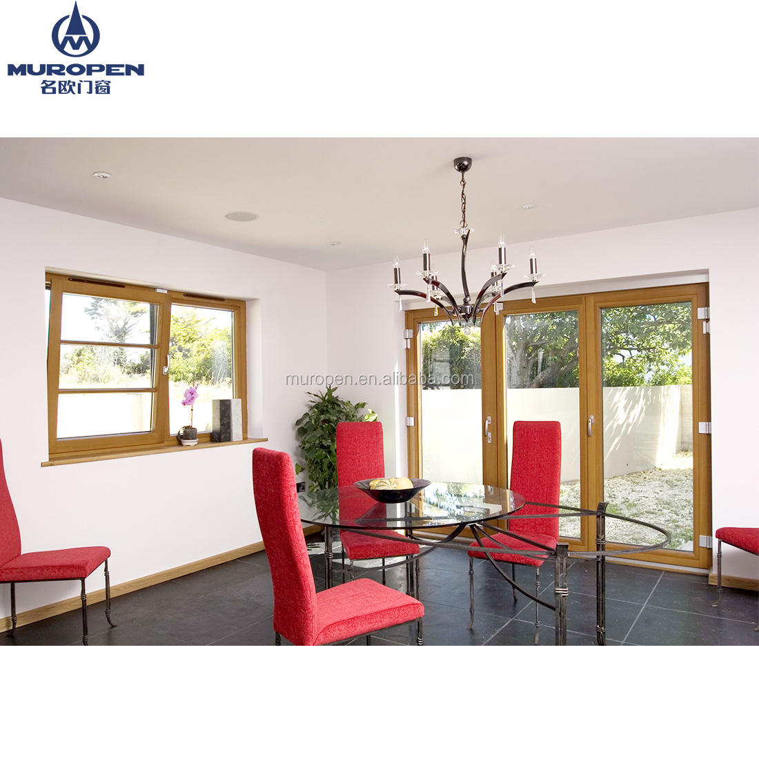 American aluminum awning windows with upgrade system