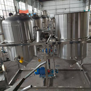 0.5TPD/1TPD/1.5TPD crude oil refinery high quality edible oil machinery