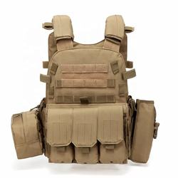 Armored Multi-function JPC Special Field Tactical CS Outdoor Training Vest Amphibious Large Wire Vest