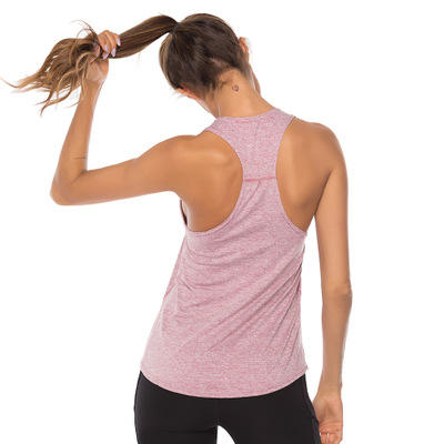 Workout Tank Tops Sleeveless Athleisure Yoga Vest Racerback Running Sports Wear For Women