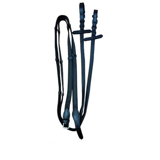 Super Grip reins with buckle