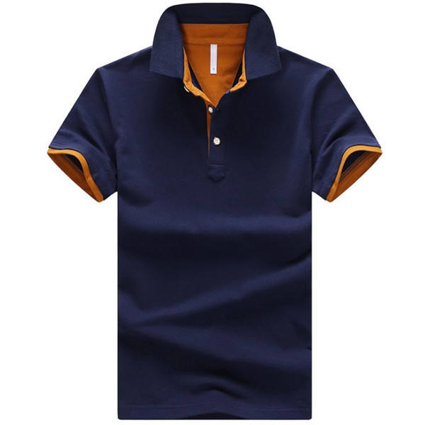 high quality cotton new design custom logo men polo t shirt