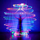 Factory Supplier Colorful Glowing Customized Dance LED Poi Ball