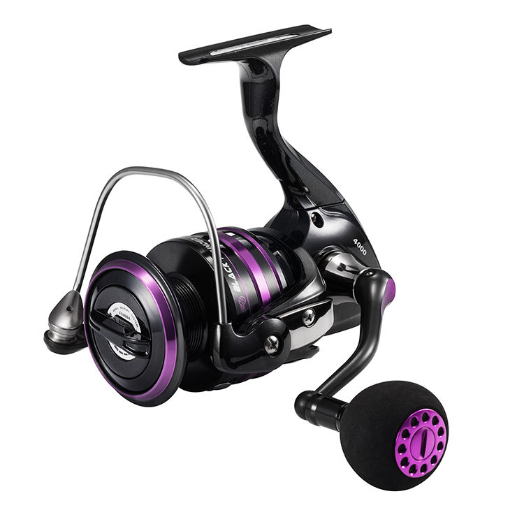 Ecooda Brand Black Thunder 2020 High Quality Best Metal Fishing Reels Spinning Reel