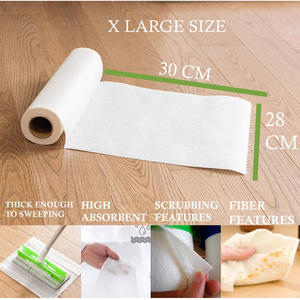 Factory Direct Reusable Paper Towel Bamboo Kitchen Roll Bamboo Kitchen Towel
