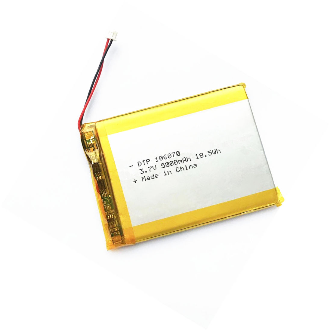 Customized rechargeable lithium 5000mah 5100mah 3.7V battery for smartphones
