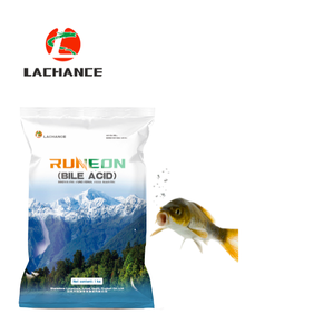Fish feed additive for activating lipase