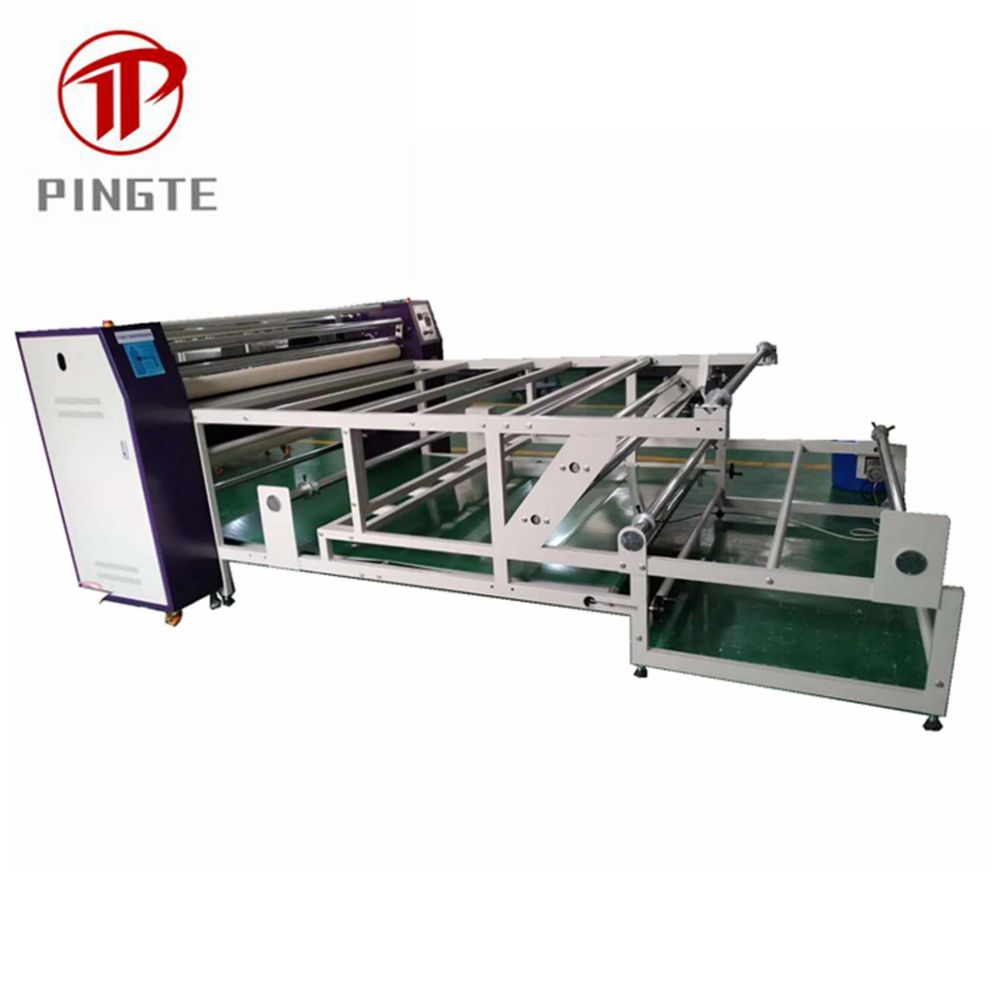 Roller sublimation roll to roll heat transfer press Machine