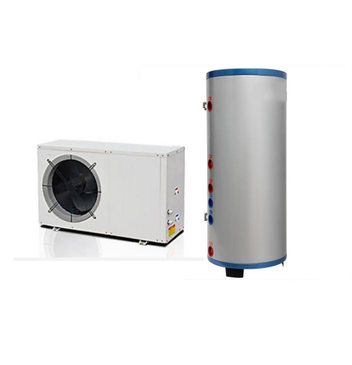 SUS 304/316/ stainless steel duplex heat pump hot water heater tank