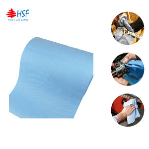 Lint free cellulose non woven spunlace PP fabric for cleaning