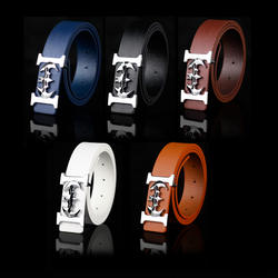 hot  selling Fashion men belts PU  leather belt