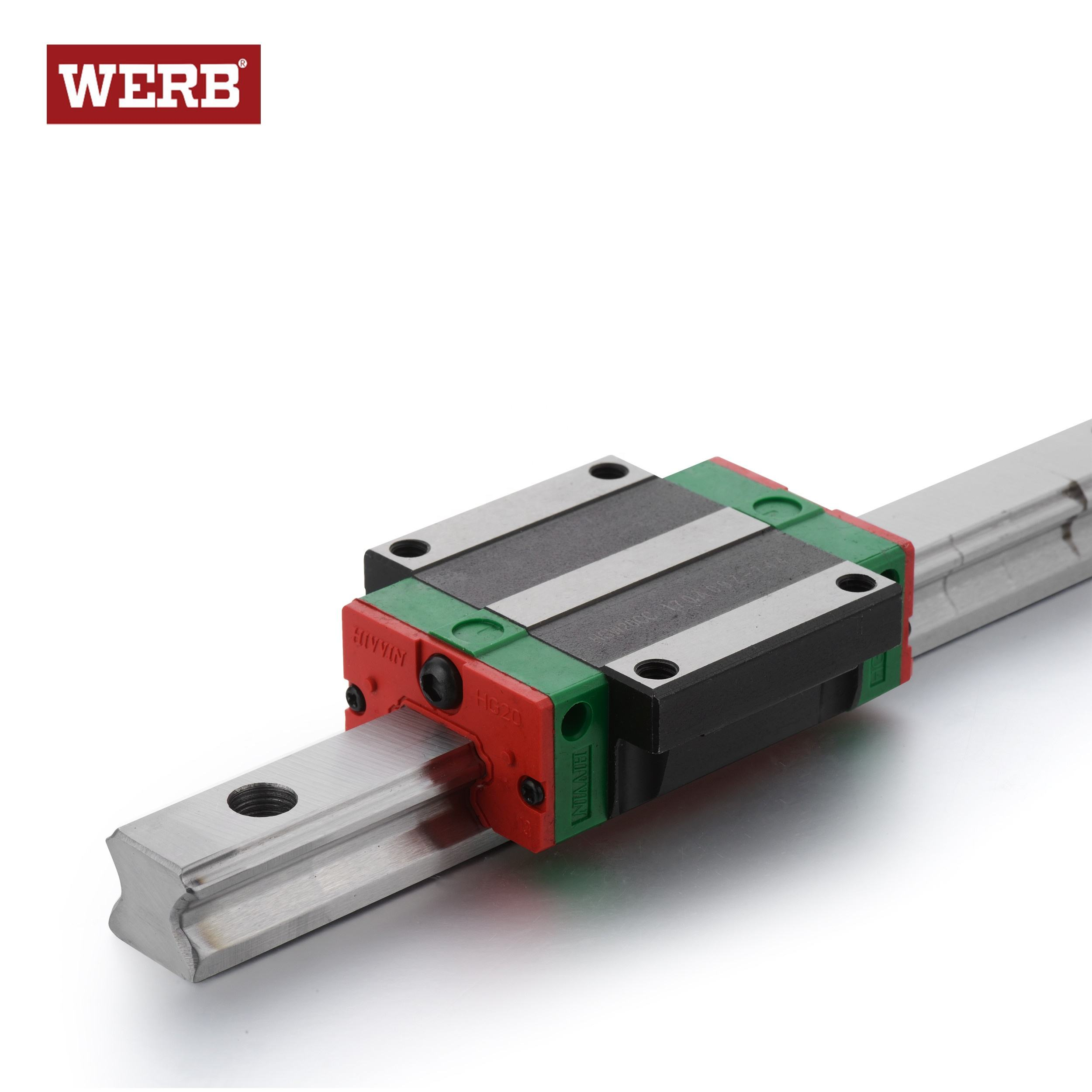 New Hiwin HGW30CCZAC Flange Block Linear Guides HGW30 Series up to 4000mm Long
