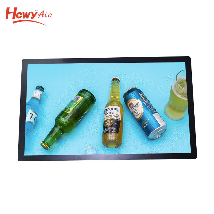 "Metal Case Embedded LCD Monitor 42"" 43"" Open Frame Monitor With Capacitive Touch Screen"