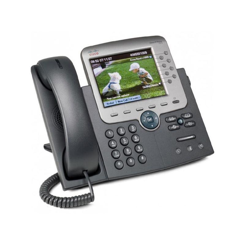 Cisco 7975 グラム 8 ライン VoIP 電話 CP-7975G