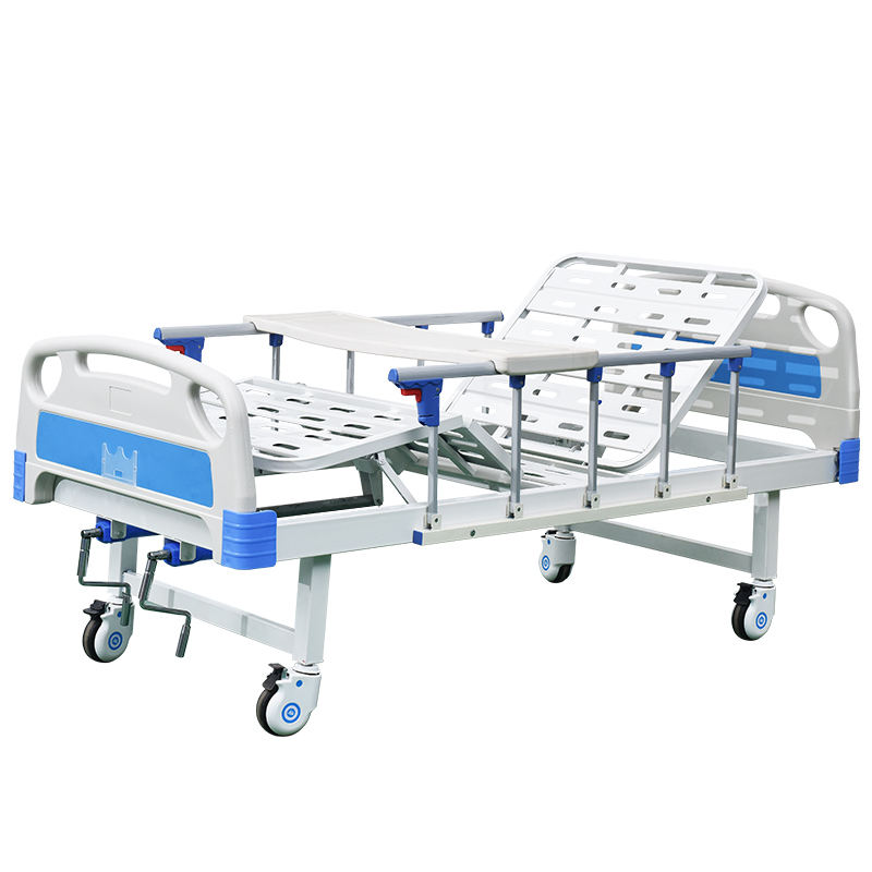 Factory Wholesale ABS Manual Two-Function Hospital Bed