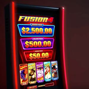 Popular American Casino Vertical Skill Games 5 IN 1 Banilla Games FUSION 4 Slot Machine for Sales