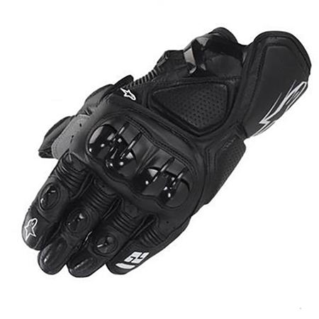 Seibertron Mens Gloves Flexible Rubber Knuckle Protective for Hiking Motorcycle Motorbike Riding Outdoor Gloves