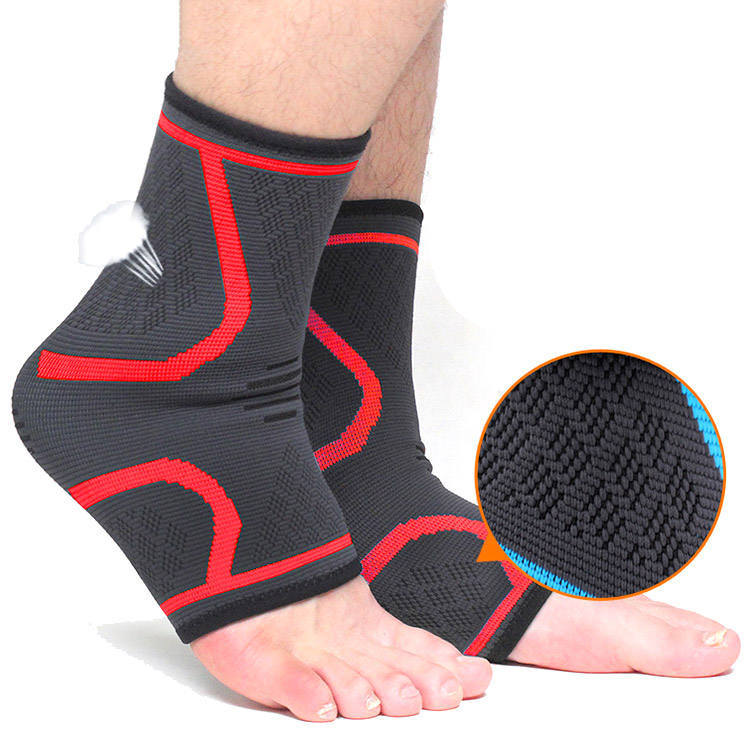 Ankle Brace Compression Support Sleeve for Injury Recovery Joint Pain Achilles Tendon Support